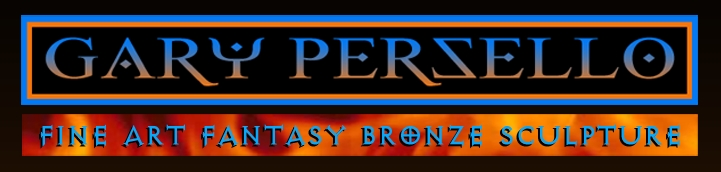 Gary Persello mythological and fantasy fine art bronzes